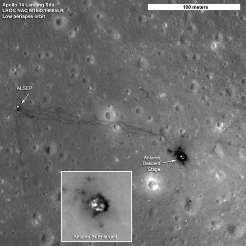 NASA Unveils Unpublished Photos of Apollo Moon Landing Sites